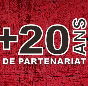 20 Années de collaboration